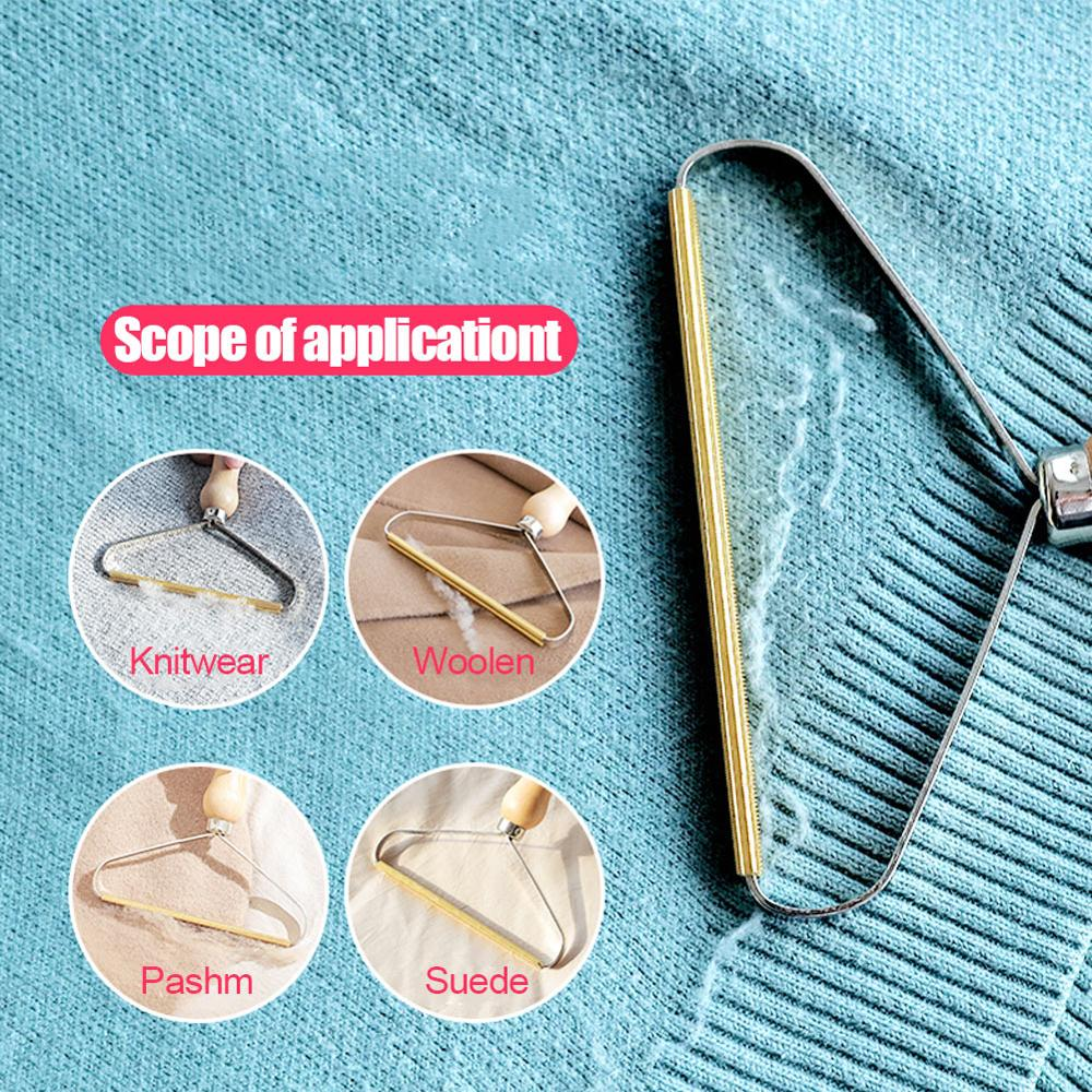 3 Pack Portable Lint Remover Clothes Fuzz Fabric Shaver Brush Tool for Sweater Woven Coat