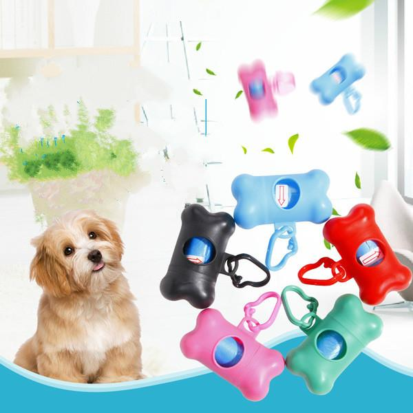 1000 Pcs Degradable Pet Clean Waste Poop Bags with Two Hanging Storage