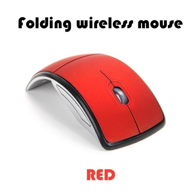Foldable Wireless Mouse USB 2.4G Computer Mouse for Laptop Notebook Desktop