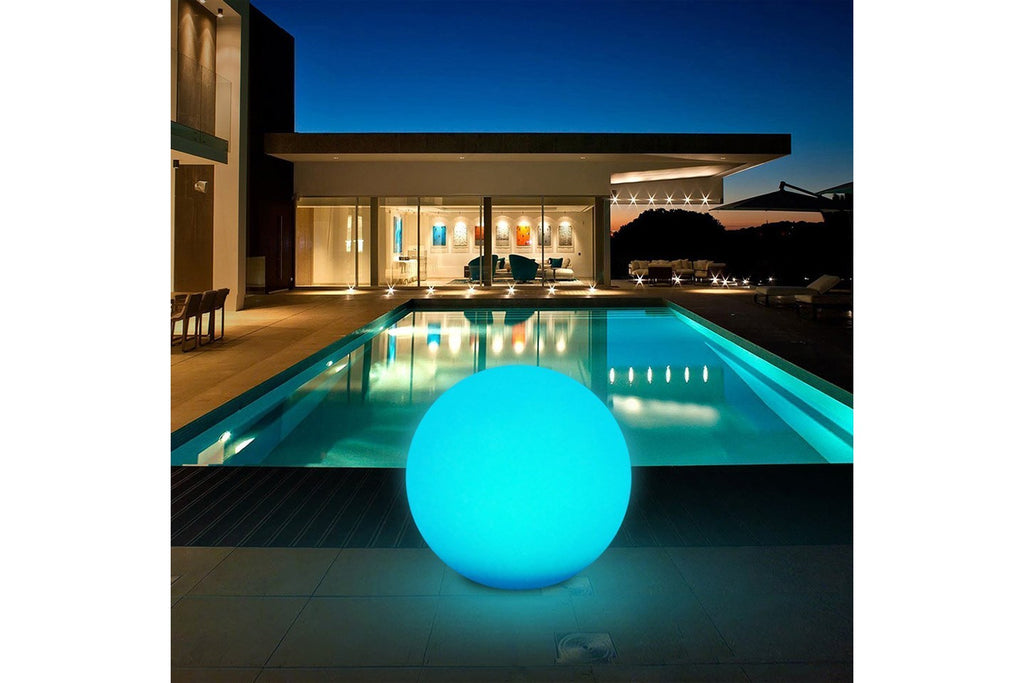 Ball Shape Outdoor Led Night Lamp with Remote Control