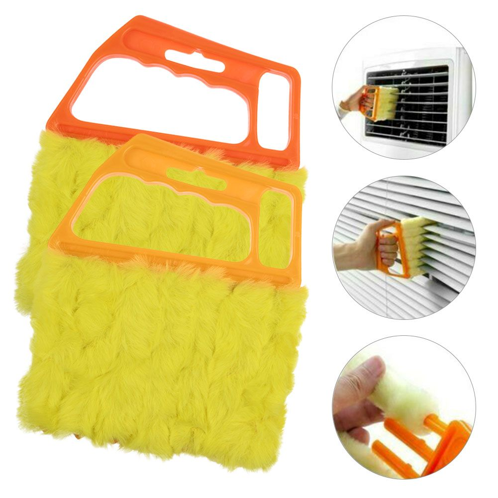 2 Pack Microfiber Blinds Window Cleaner Brush Duster Clean Brush