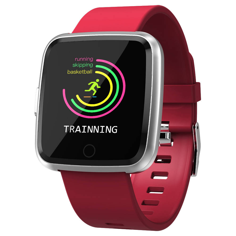Y7 Bluetooth Smart Watch Heart Rate Monitor Fitness Tracker 1.3''