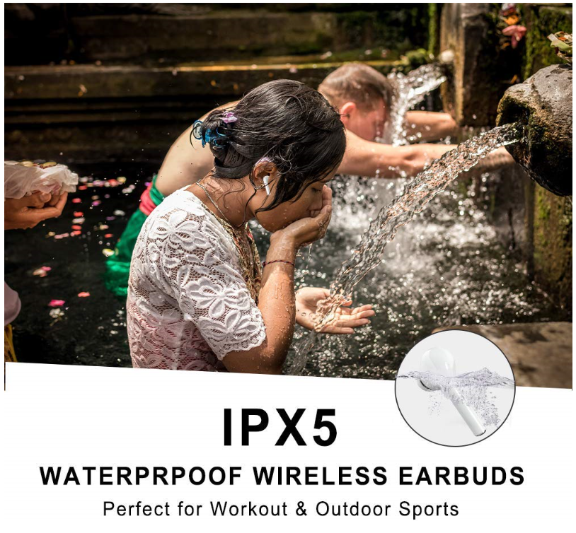 Siri Compatible Wireless Bluetooth Earbuds Pro