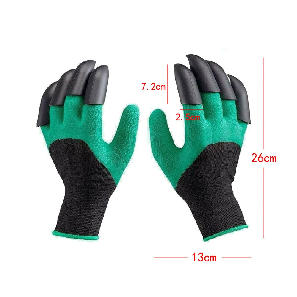 Garden Claw Gloves with Digging and Planting Claws