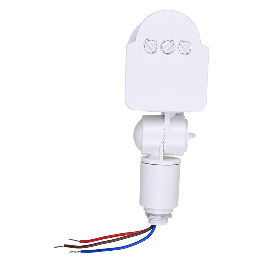 Outdoor LED Security PIR Infrared Motion Sensor Detector 180°