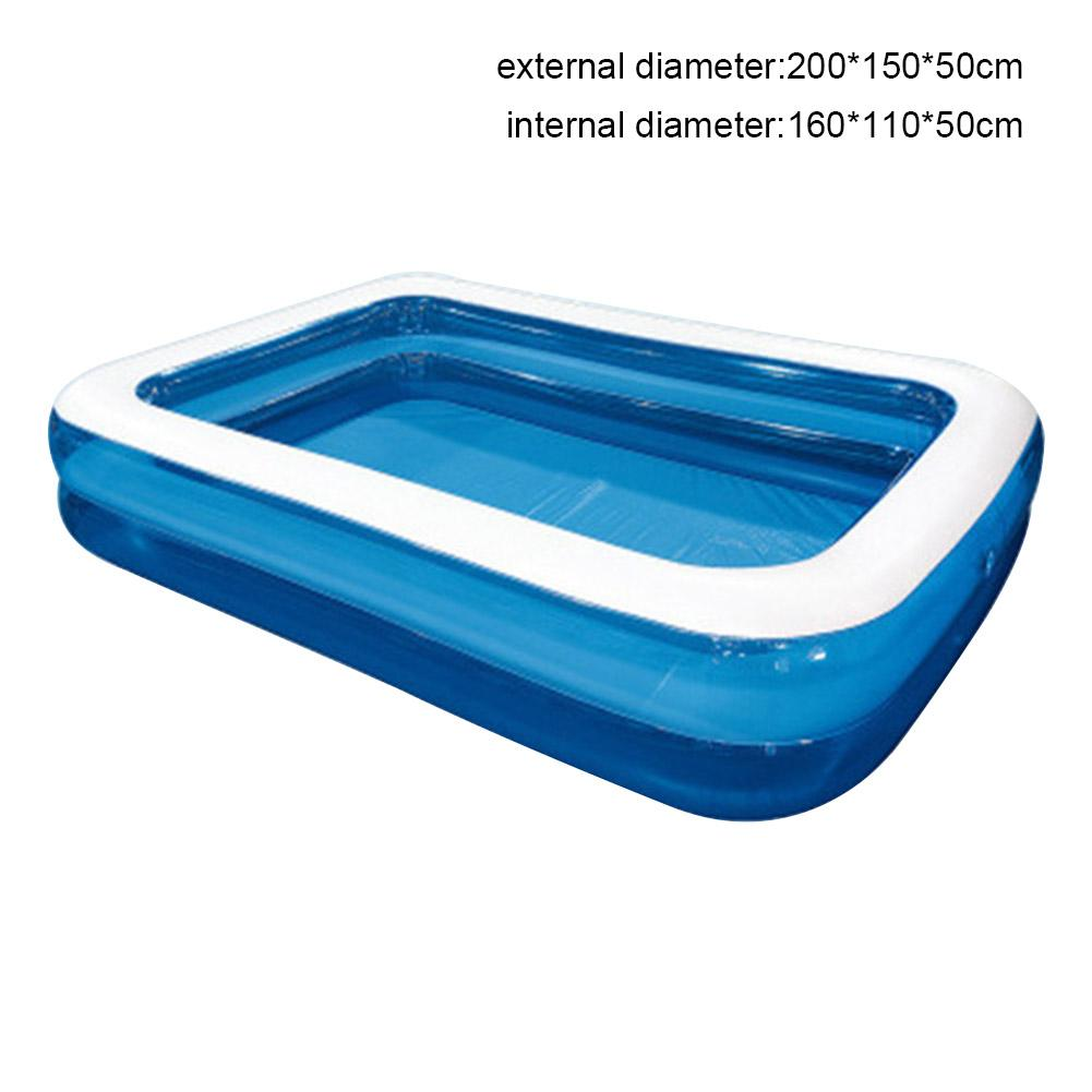 Inflatable Family Swimming Pool Outdoor Garden Paddling Pool