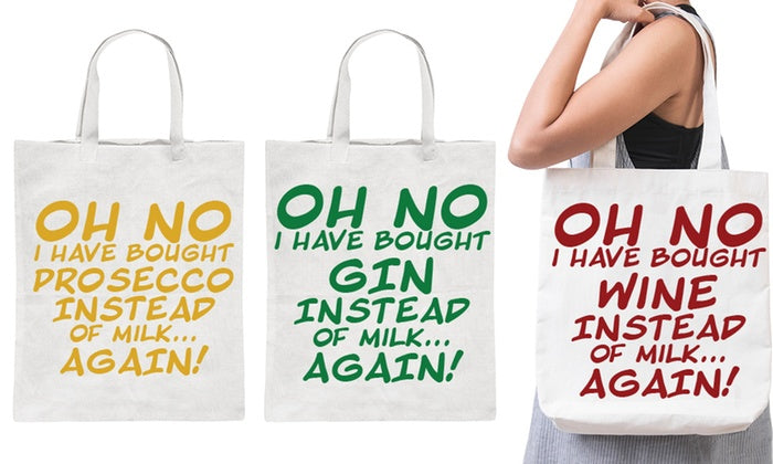 Oh No I Have Bought Tote Bags Shopping Bag