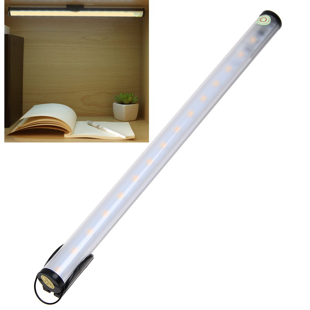 Dimmable 4 Modes USB Charge LED Touch Light Bar