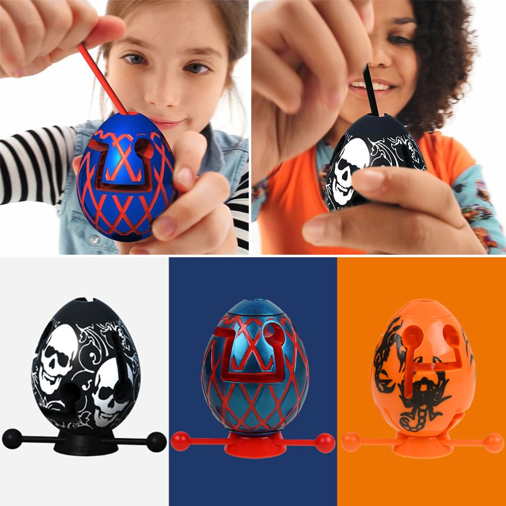 Kids Smart Egg Labyrinth Puzzle Maze Toy
