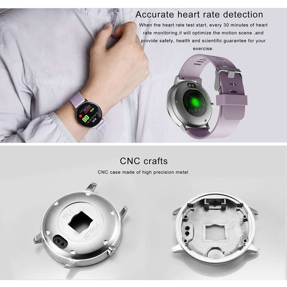 V11 Smart Watch Blood Pressure Heart Rate Monitor Sport Bracelet Fitness
