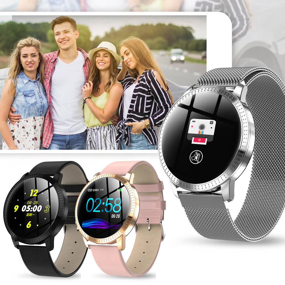CF18 Smart Watch Heart Rate Blood Pressure Monitor Fitness Tracker Wristband