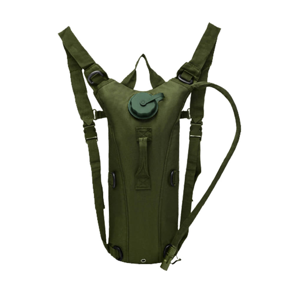 3L Hydration System Survival Climb Hiking Water Bag Pouch Backpack