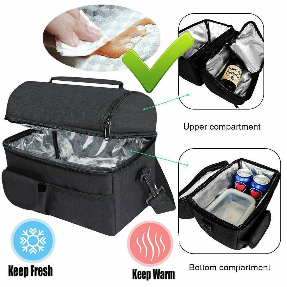 Insulated Picnic Lunch Bag Cooling Bag