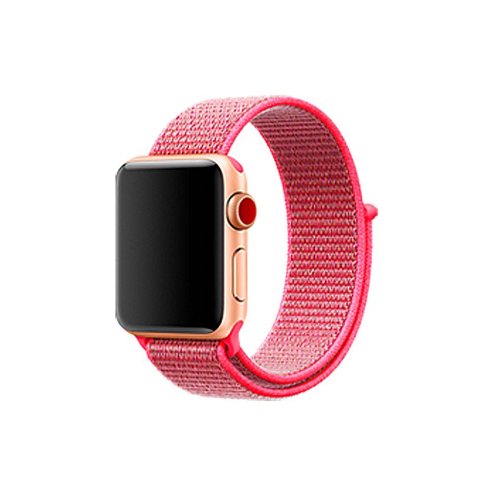 Nylon Sport Loop Band Strap Bracelet For iWatch Apple Watch Series 3/2/1