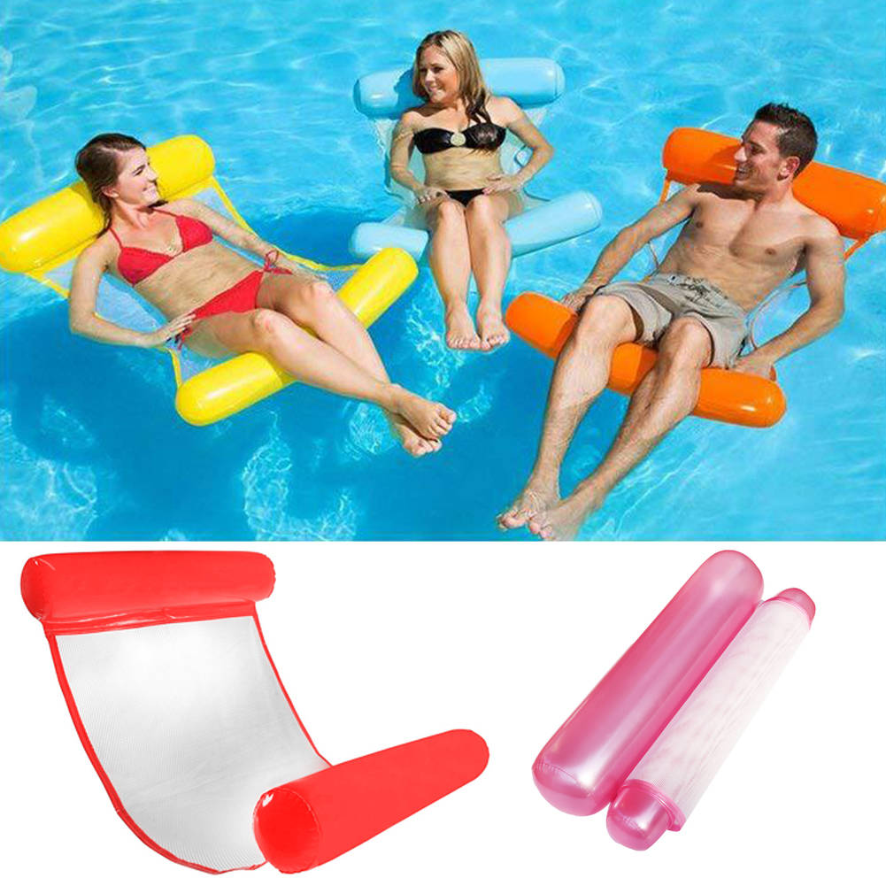 Inflatable Swimming Pool Floating Water Hammock Chair
