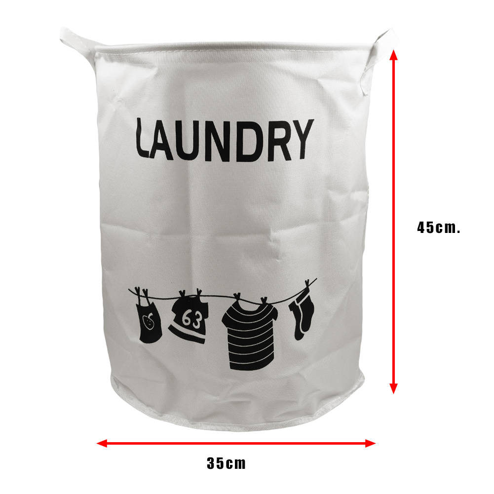 Foldable Clothes Storage Bags Basket Laundry Bin