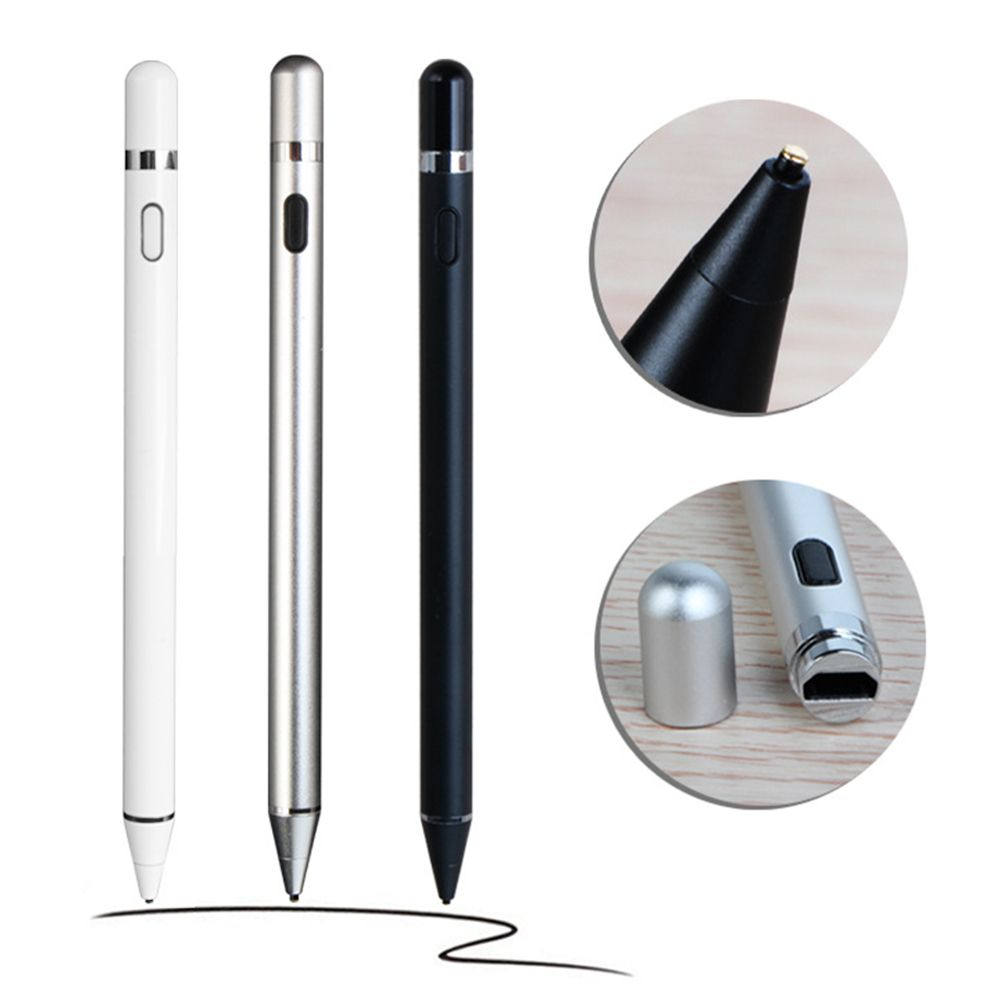 Digital Active Stylus Pen For Apple iPad Touchscreen Ultra Fine Tip 1.5mm