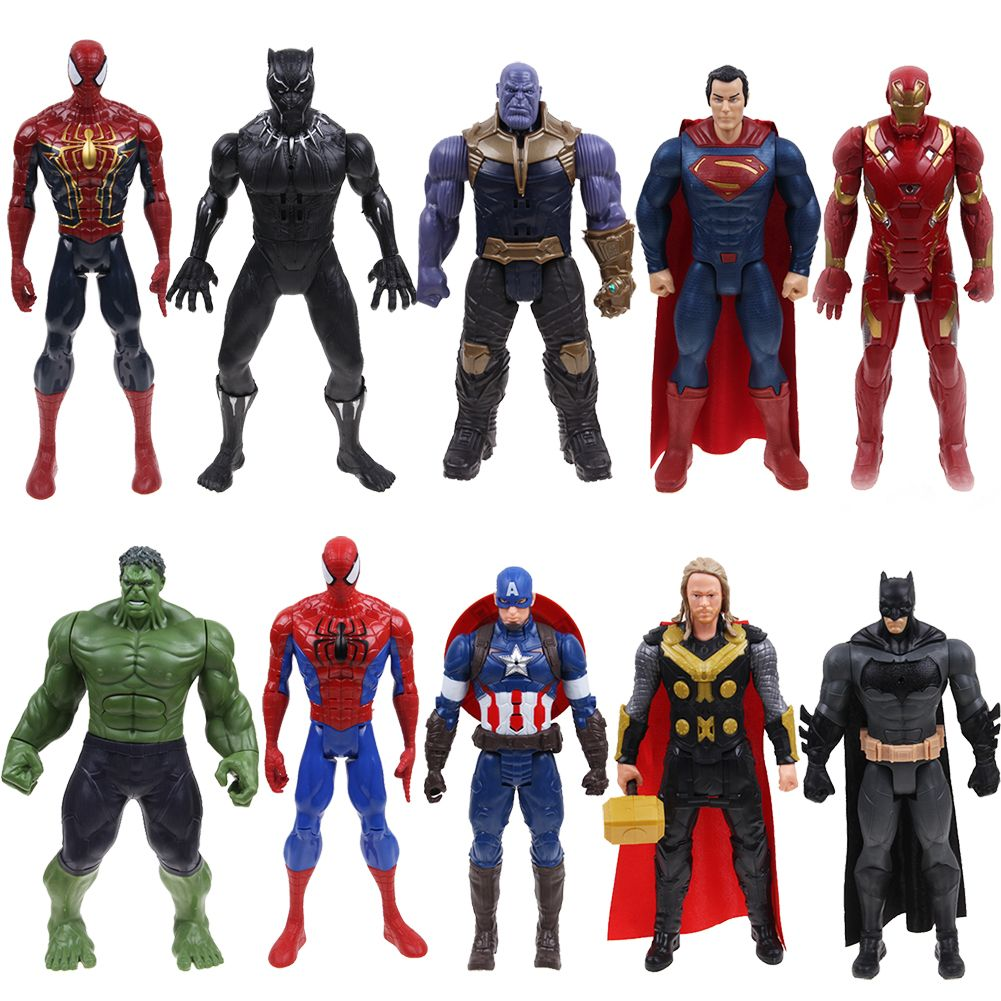 "12"" Avengers Infinity War Thanos Spiderman Souding & Glowing Figure"