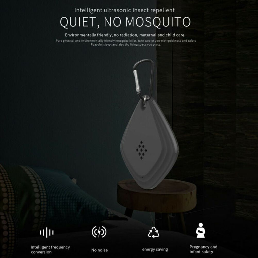 Mini USB Outdoor Ultrasonic Anti Mosquito Insect Pest Bug Repeller