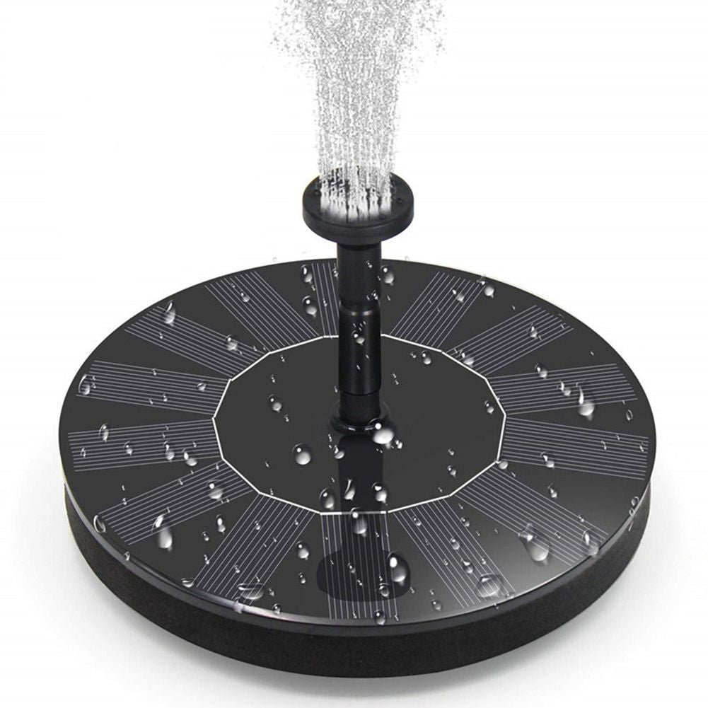 Solar Panel Powered Water Feature Pump Floating Pool Pond Aquarium Fountain