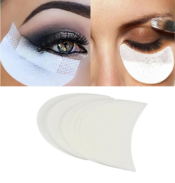 20 Pcs Eye Shadow Shields Patches Eyelash Pad Under Eye Stickers Makeup Tool