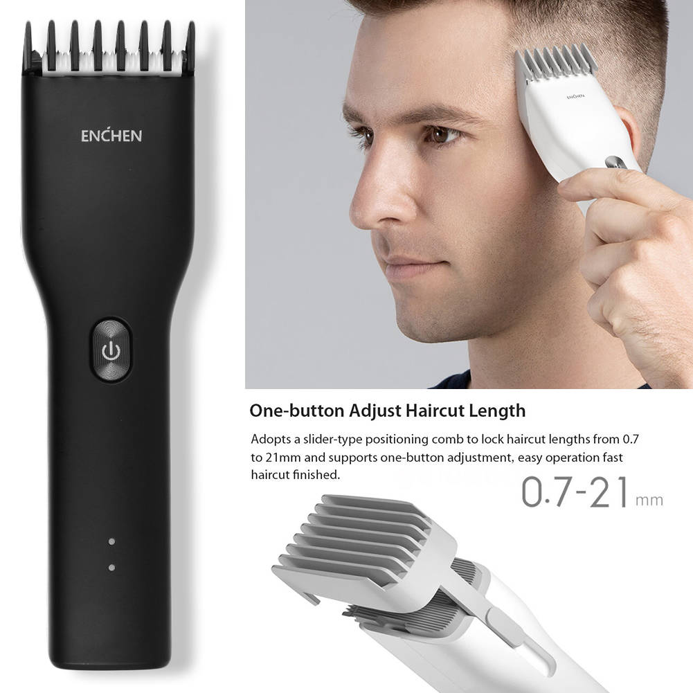 USB Rechargeable Enchen Boost Electric Hair Clipper