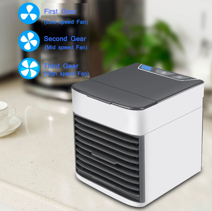Personal space air cooler and humidifier