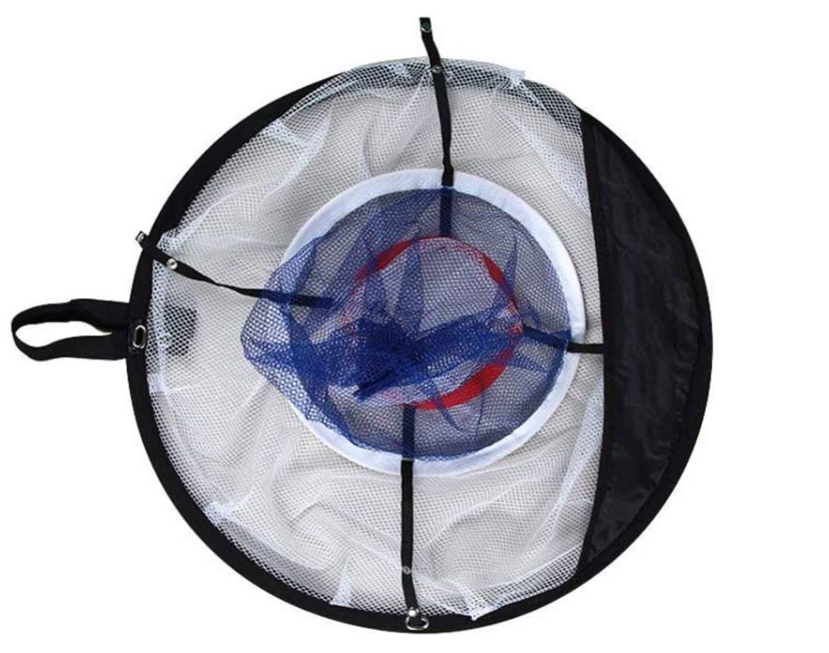 Golf Chipping Pitching Hitting Cage Practice Net Outdoor Training Aid Tools