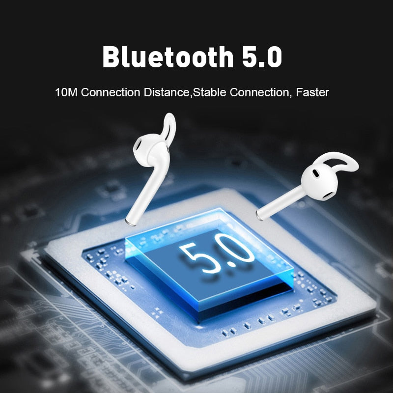 i20 TWS Touch Control Wireless Bluetooth 5.0 Earphones