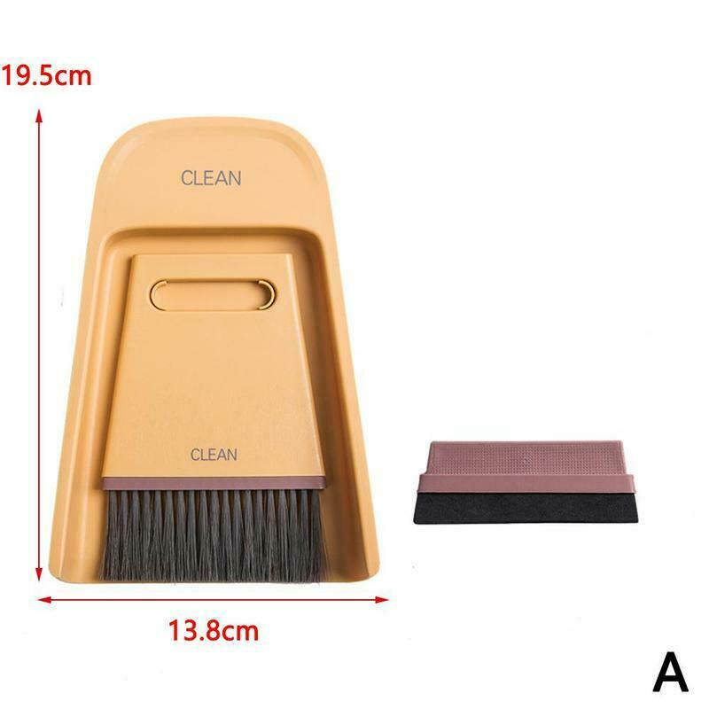 Mini Broom Dustpan Set Soft Sweeper Cleaning