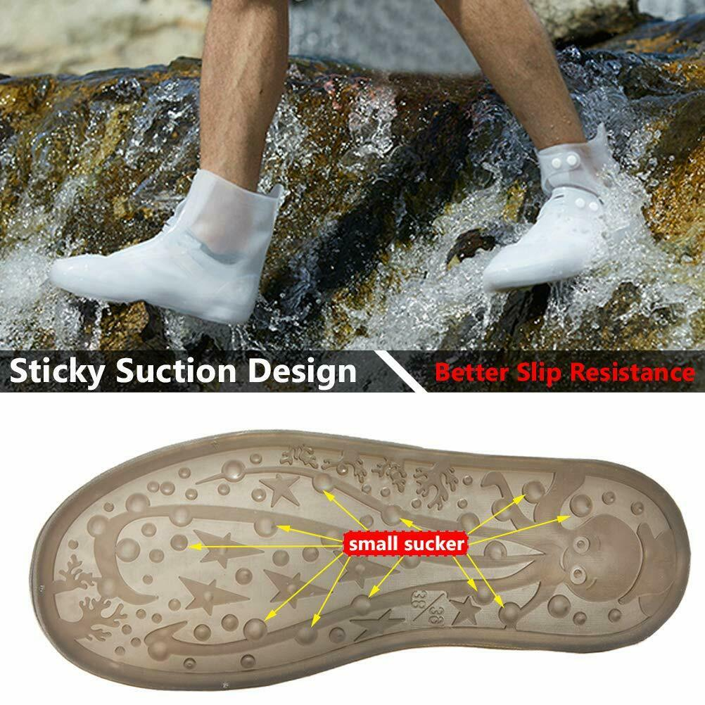 Outdoor Waterproof Shoes Cover Rain Snow Overshoes Boot Covers
