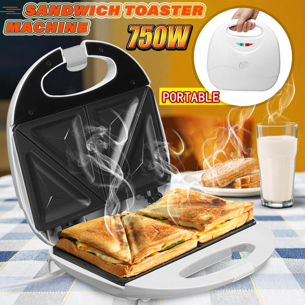 Stainless Steel  Sandwich Toaster Maker Non Stick Machine