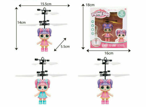 Flying Girl Magic Infrared Induction Control Doll Toy
