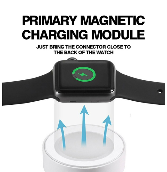 For Apple Watch iWatch 3/2/1 Magnetic Charger Charging Pad Cable 38mm&42mm