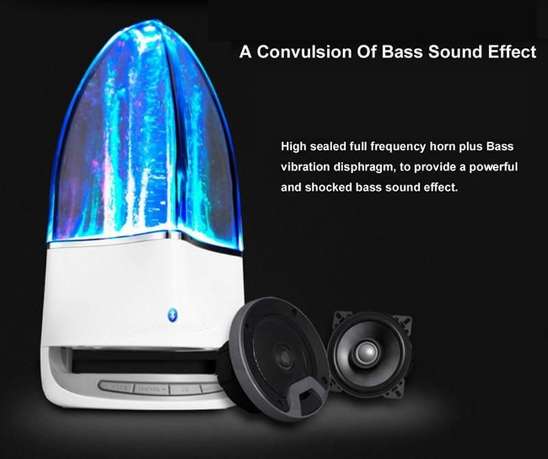 Portable Bluetooth Dancing Water Wireless Speaker Powerful Stereo Sound - shopmeko