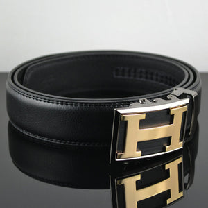 Men Classical Design Genuine Leather Belt