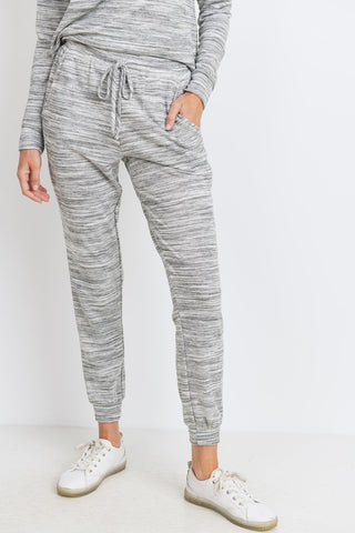 Marbled Gray Joggers