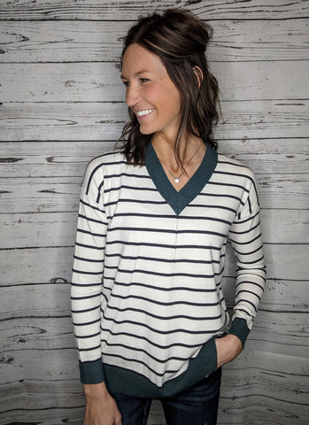 Stella Striped Sweater