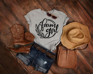 Open image in slideshow, Farm Girl Graphic Tee