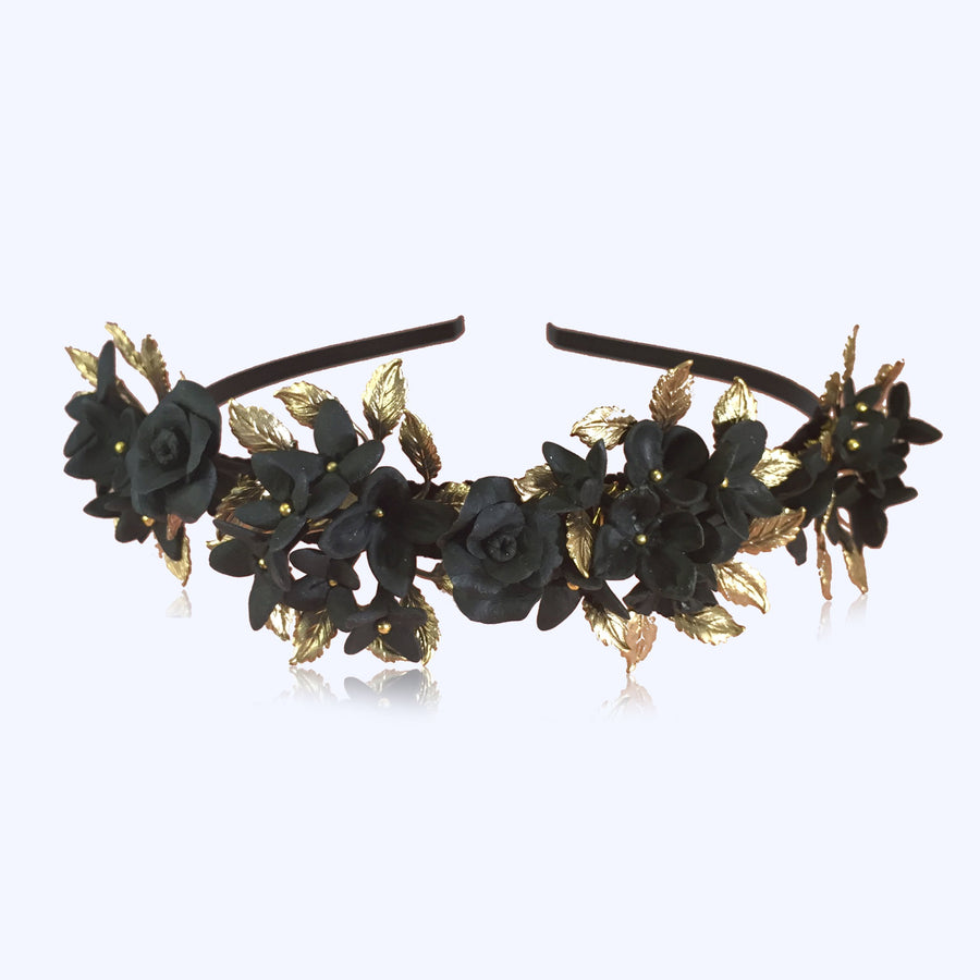 Annabelle Headpiece in Black