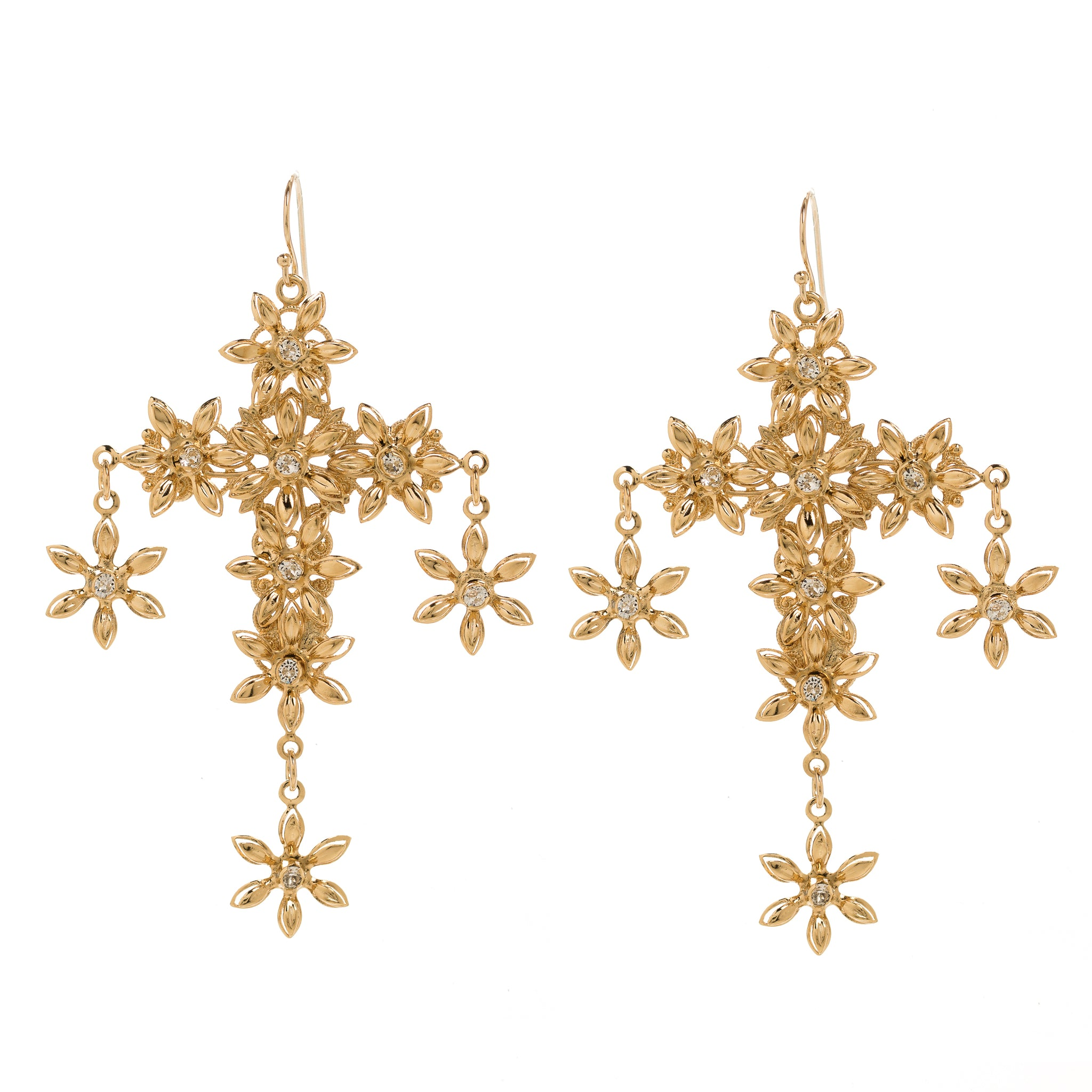 Chloe Earrings in Gold