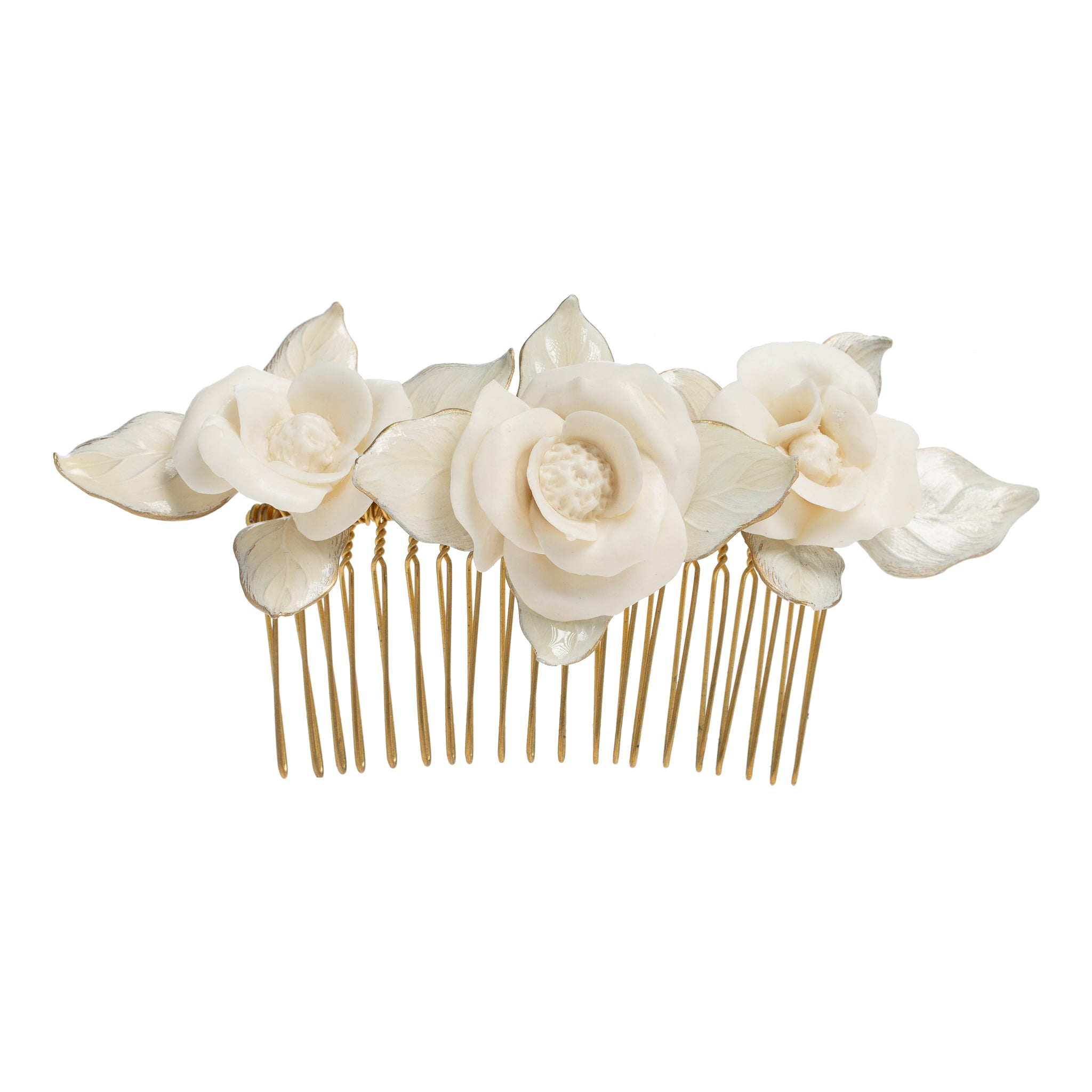 Emelia Comb in White