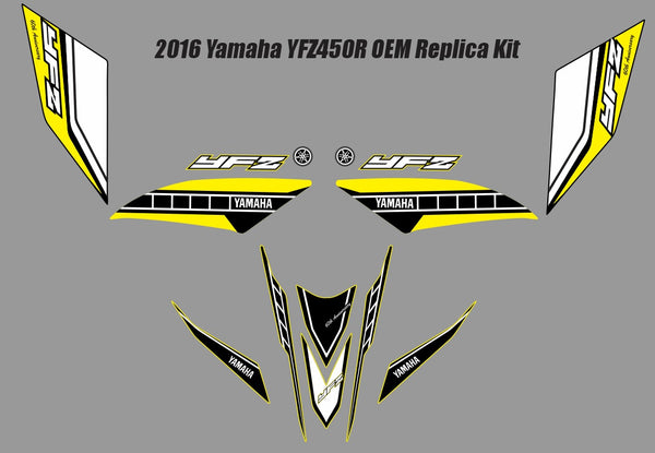 Yamaha YFZ Graphics (2016 OEM Replica Kit)