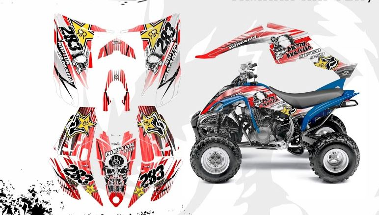 Yamaha Raptor 350 Graphics 8