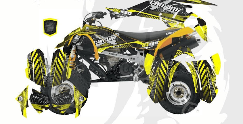 Can-Am DS 450 D8