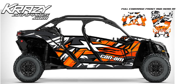 Can-Am X3 Maverick 4 door FULL COVERAGE -3