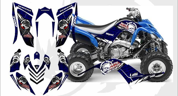 Yamaha Raptor 700R Graphics d22