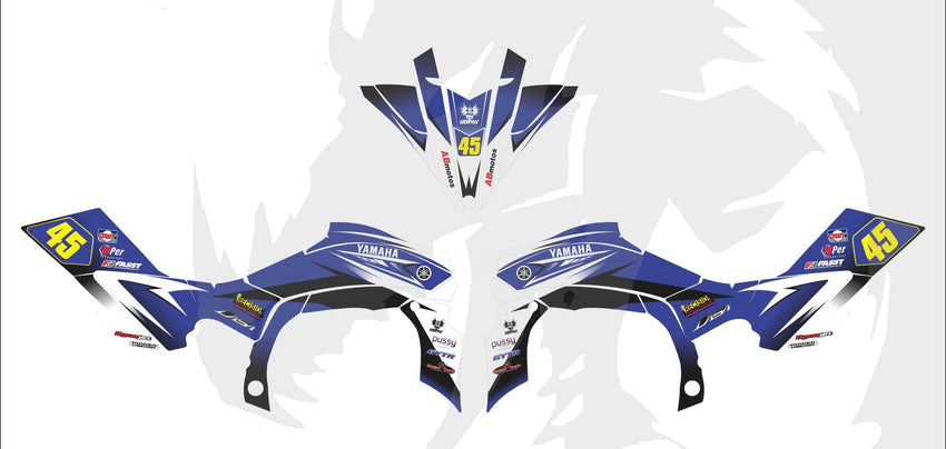 Yamaha YFZ Graphics (2009-2013)-d15