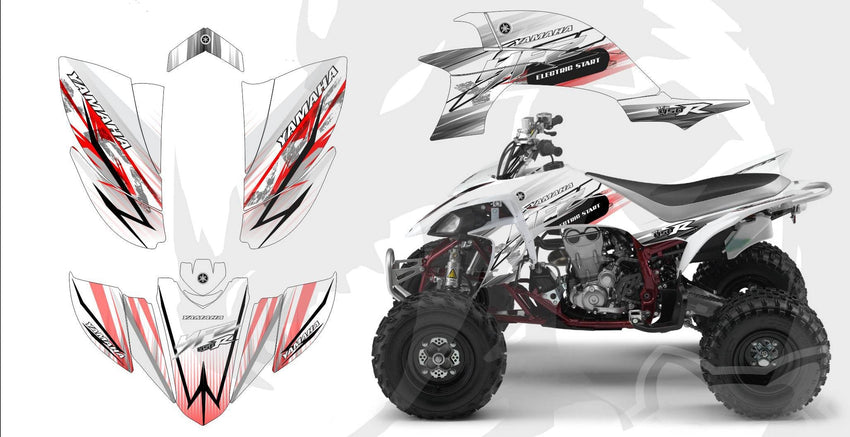 Yamaha YFZ Graphics (2003-2008)-d121