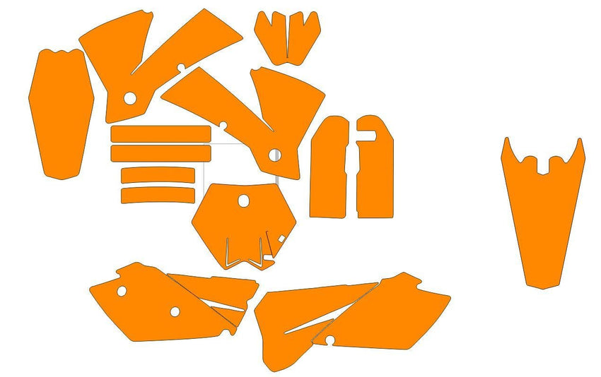 KTM SX Series 2003-2004 template